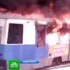 BBC - Russia: Dagestani boxers in dramatic tram rescue