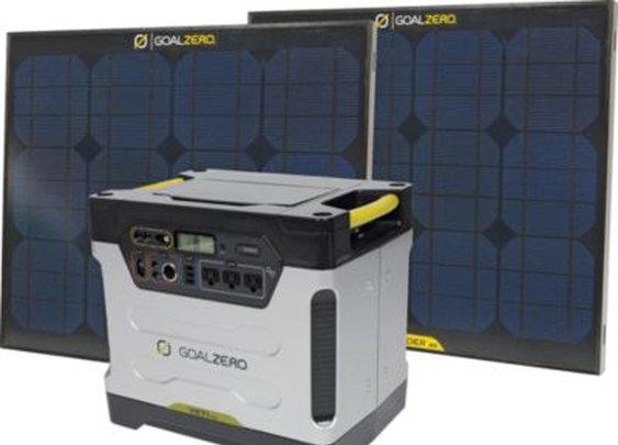 Goal Zero Yeti 1250 Solar Generator Kit : Cabela's
