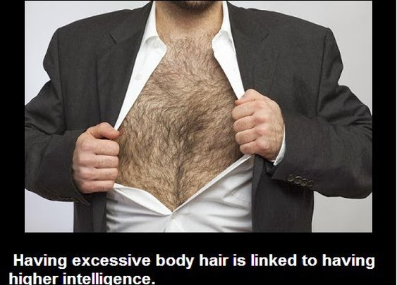 Did you know that having excessive body hair is linked to having higher ....