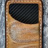 Cool Front Pocket Wallet Built From Vinatage Baseball Gloves-Made In America