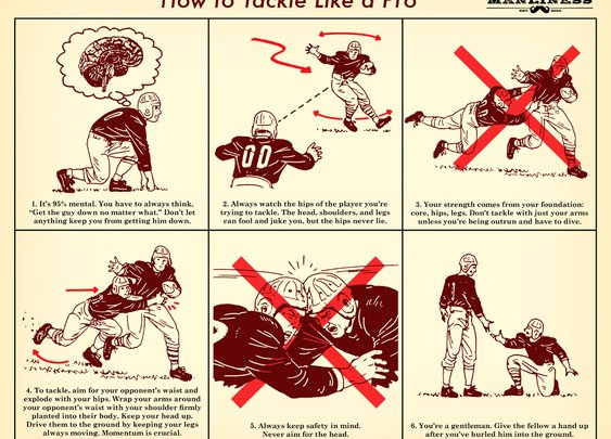 How to Tackle Like a Pro | The Art of Manliness