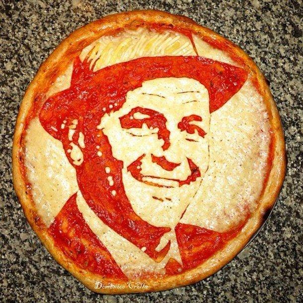 Pizza Art – Portraits on Pizza