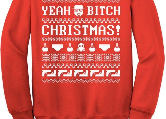 """""""Breaking Bad"""" Christmas Jumper"""
