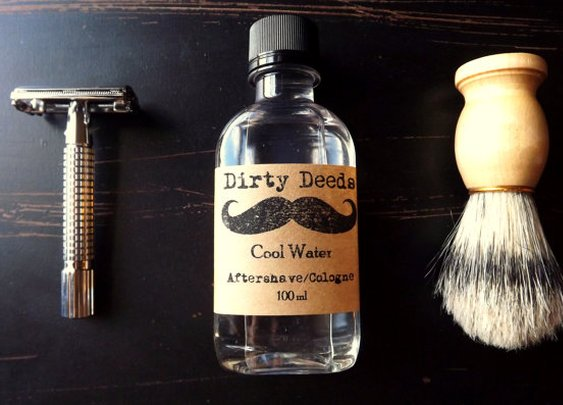 Men's Aftershave/Cologne Refill by DirtyDeedsSoaps on Etsy