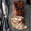 Charcoal-Grilled Bourbon Pork Loin