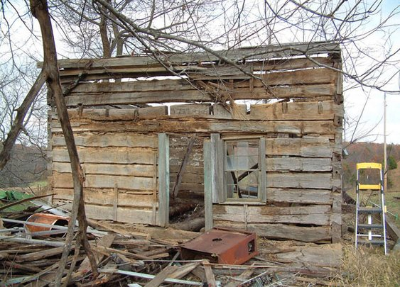 Mathematician Restores A Rotting Cabin From 1830