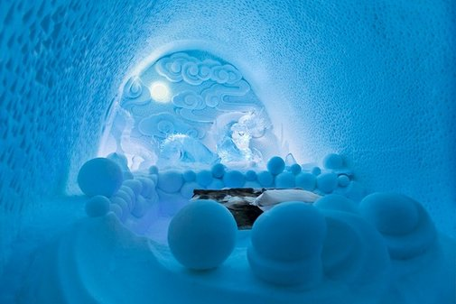 Ice Art Hotel - spectacular ICEHOTEL in northern Sweden