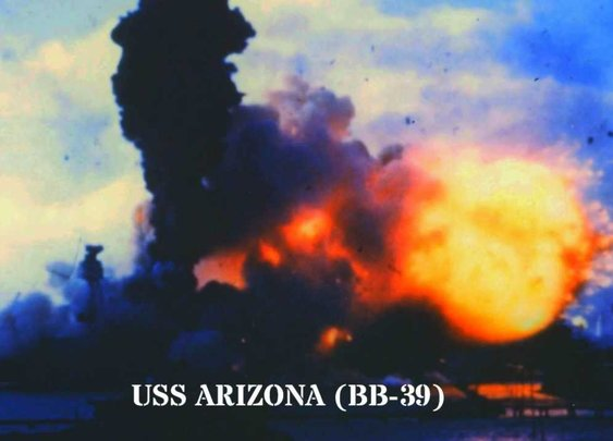 Pearl Harbor - Dec. 7, 1941 - The only color film of the attack - YouTube