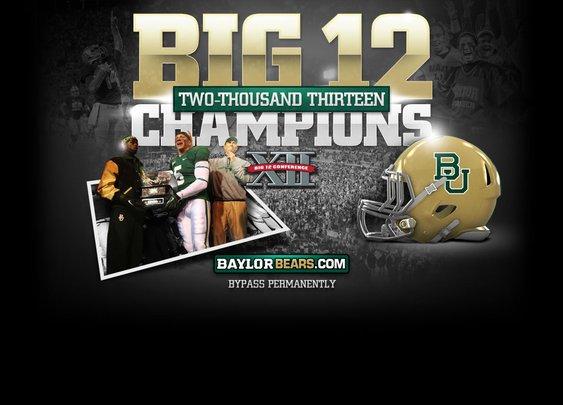 BIG 12 CHAMPIONS