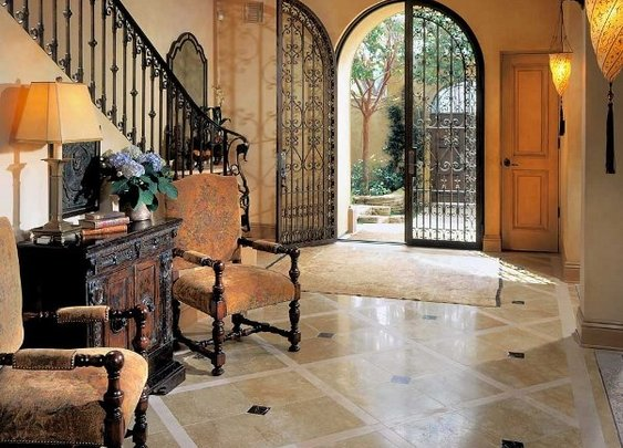 Spanish Mediterranean Homes, Spanish Colonial Residence is an Art Collection & an Intuitive Design