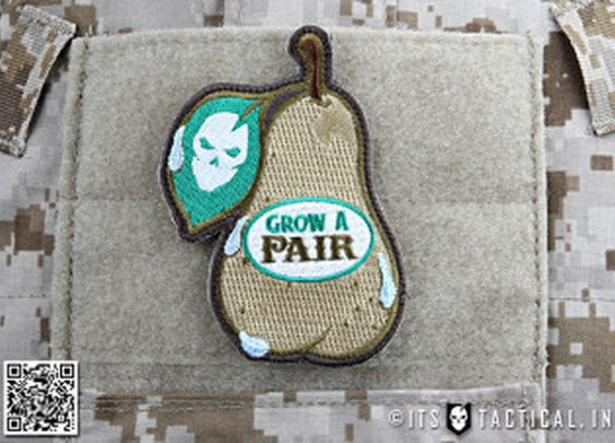 ITS Grow A Pair Morale Patch : ITS Tactical