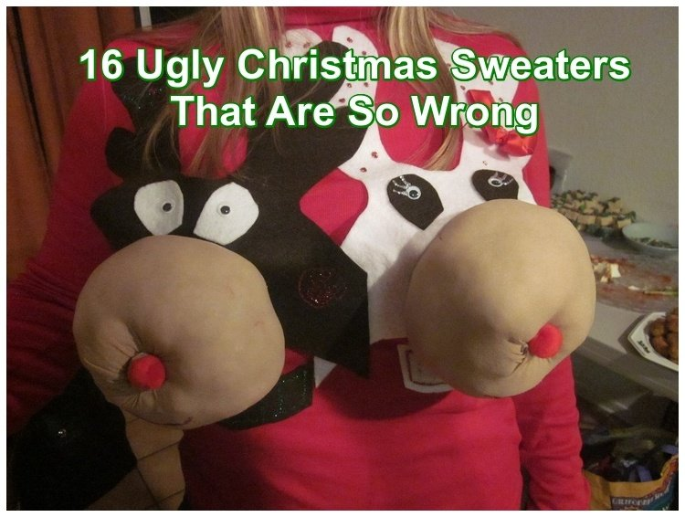 16 Christmas Sweaters That Are Not Just Ugly But Wrong | Gentlemint