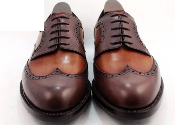 two tone wingtip