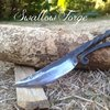 How to Forge a Medieval style bushcraft knife. Blacksmith at Swallow Forge. - YouTube