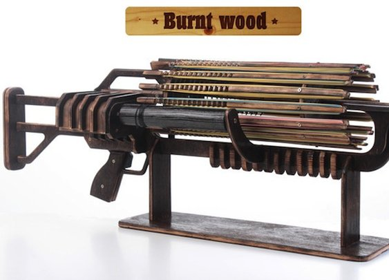 Rubber Band Machine Gun!
