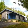 Olson Kundig's One-Room Gulf Islands Cabin is a Minimalist Retreat in British Columbia | Inhabitat