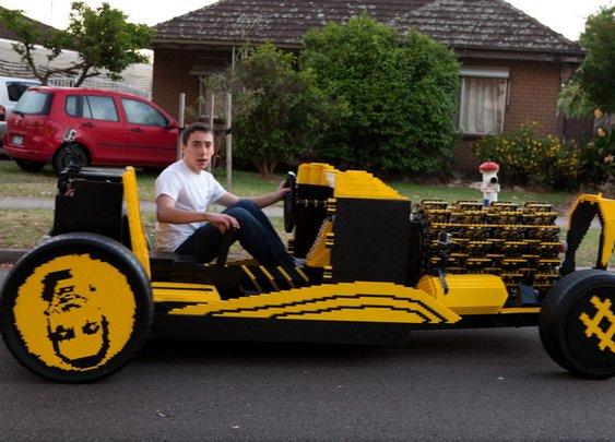 Amazing Life-Size Lego Car