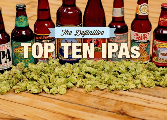 The Definitive Top 10 IPAs Chosen By Beer Experts