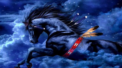 Year of the Horse 2014 for painters and artists