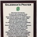 Salesman Prayer Plaque by BLCustomCreations on Etsy