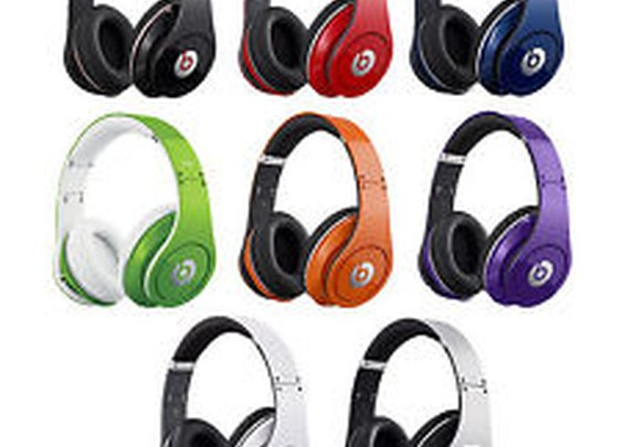 Beats by Dre Studio High Definition Noise Canceling Over Ear Monster Headphones