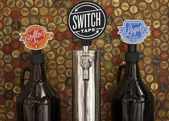 Switchable Beer Taps