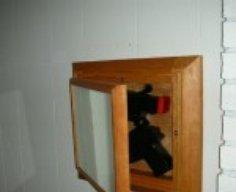 Mirror with Secret Gun Compartment   StashVault