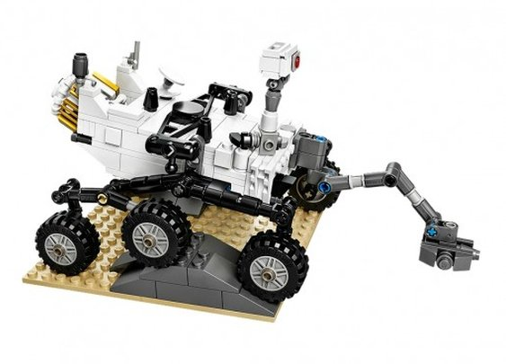 NASA's Curiosity Rover available on Earth in Lego form