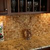 Wine Cork Backsplash Wall