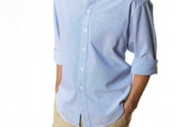 Men's Classic Oxford Shirt- Summer Staple | Natural Basix Quality Men's Casual Wear