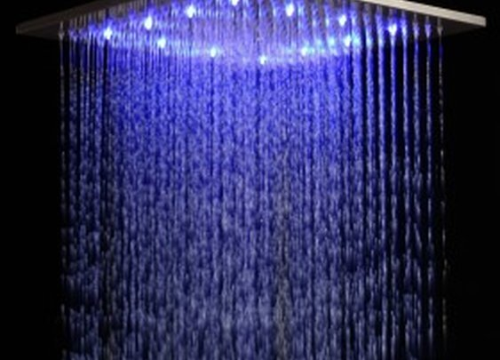 Rainfall LED Shower Head