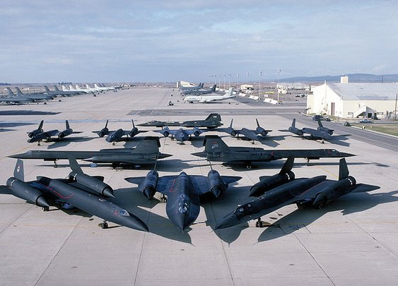 SR-71 Blackbirds - Lockheed Martin