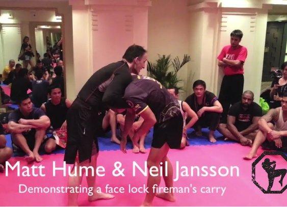 Matt Hume MMA Seminar Manila, Philippines - Camp Jansson