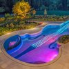 Violin Shaped Swimming Pool