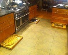 Killer Kitchen Toe Kick Storage Drawers   StashVault