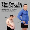The Push Up Muscle Shirt | The Flattering Man