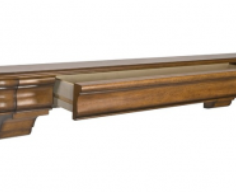 Shelf with Secret Drawer Storage   StashVault