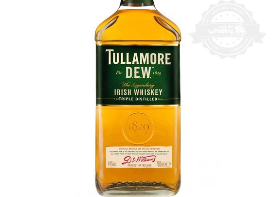 Tullamore Dew, Triple Distilled Irish Whiskey | The Gentleman & Scholar