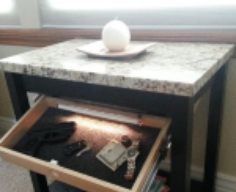 Table with Secret Compartment Drawer | StashVault