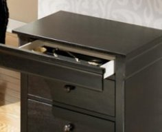 Hidden Drawer Nightstand   StashVault