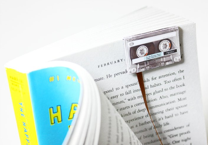 Cassette Tape Bookmarks | The Coolector