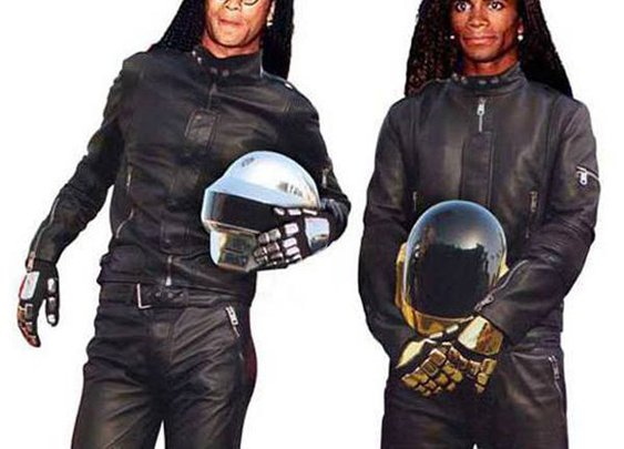 Photo Exposing Daft Punk Is Really Milli Vanilli | The DJ Stone Crazy Spot