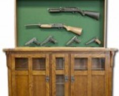 Secret Compartment Gun Cabinet   StashVault