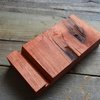 iPad Stand made from reclaimed wood salvaged from historic Chicago buildings