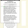 A Father's Instructions for Life - StumbleUpon