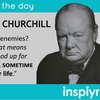 Wise words from Churchill