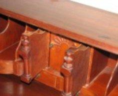 Antique Desk with Secret Compartments   StashVault