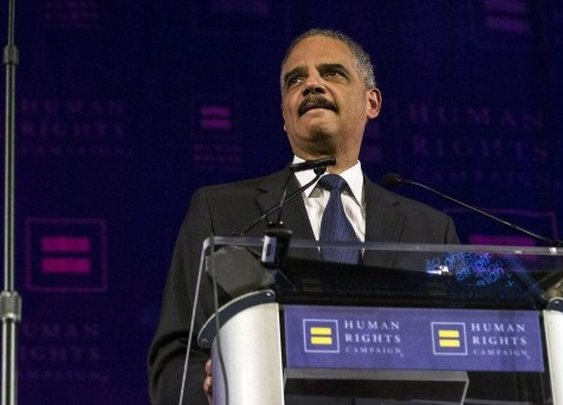 (Non-fiscal) Redistribution, Eric Holder in Sweden