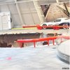 BBC News - US sinkhole swallows Corvettes at car museum