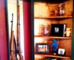 Gun Concealment Corner Bookshelf   StashVault